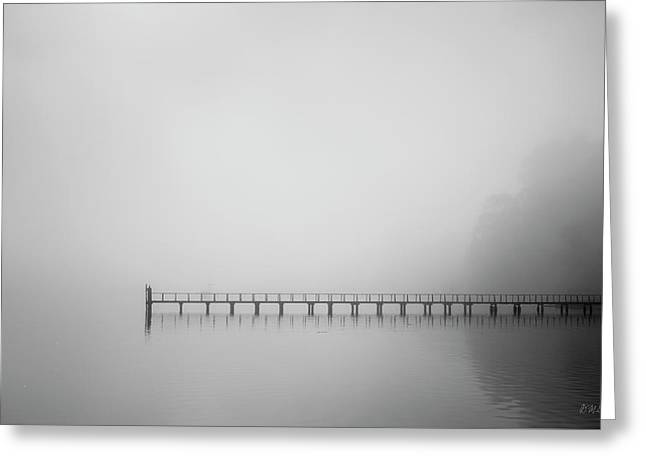 Greeting Card featuring the photograph Tomales Bay V Bw by David Gordon