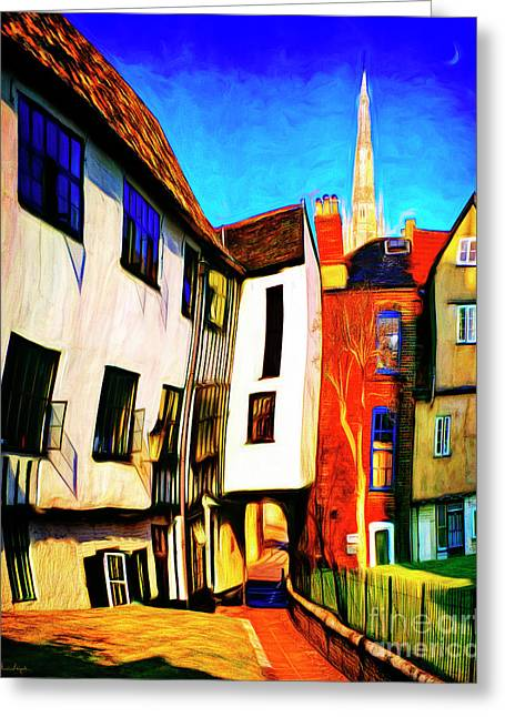 Tombeland Alley Greeting Card