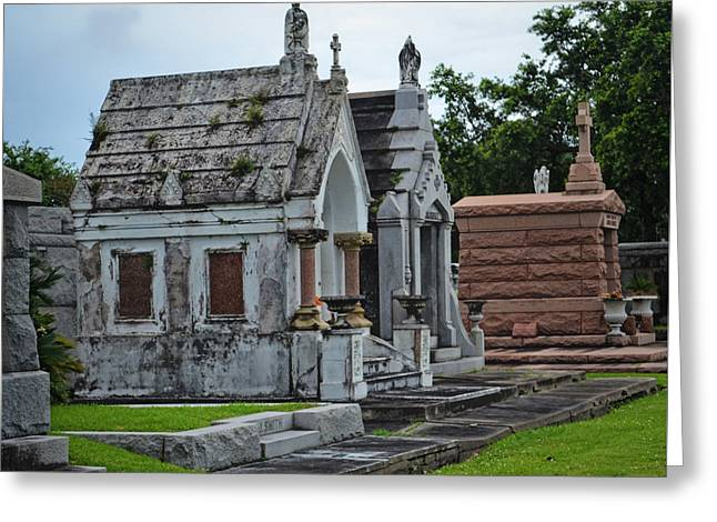 Tombs And Graves Greeting Card