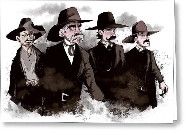 Tombstone Greeting Card