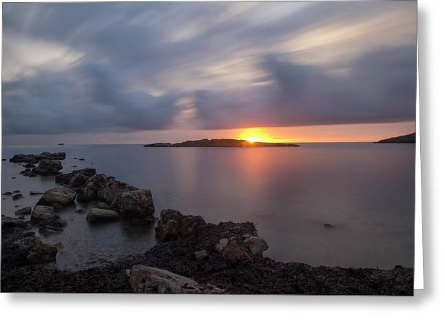 Total Calm In An Ibiza Sunrise Greeting Card