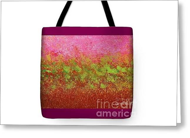 Tote Bags In Three Sizes Greeting Card