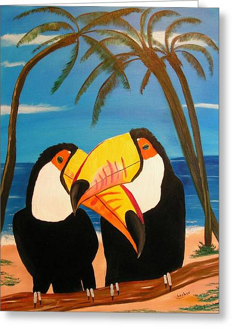 Toucan Love Greeting Card