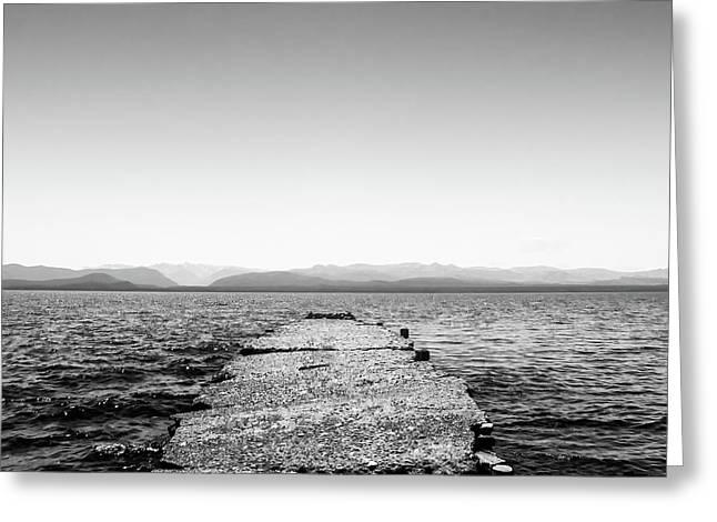 Towards The Nahuel Huapi Lake Greeting Card