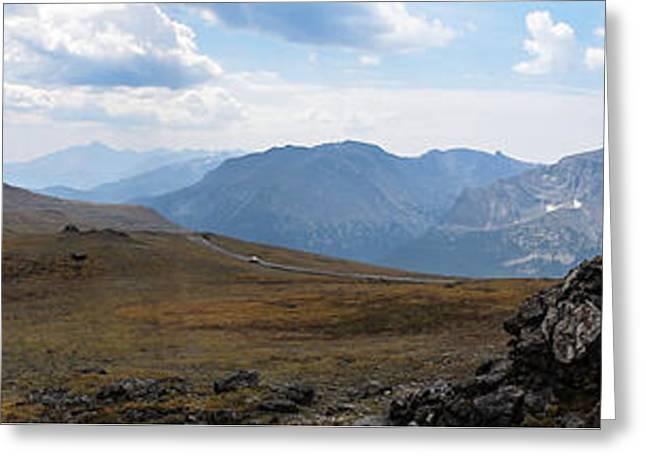 Trail Ridge Road Arctic Panorama Greeting Card