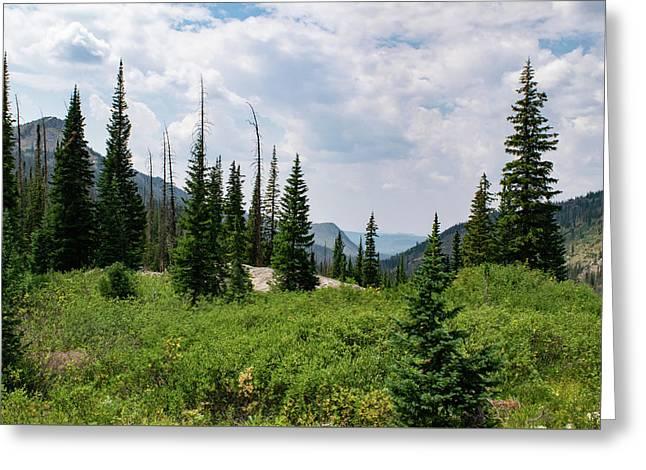 Trail To Gilpin Lake Greeting Card