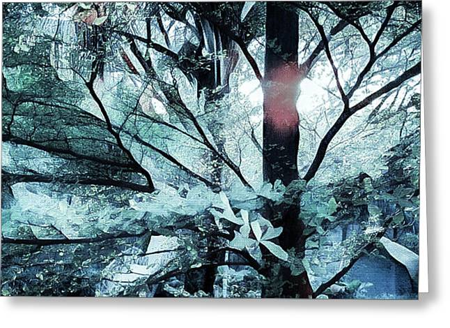 Tree Of Glass Greeting Card