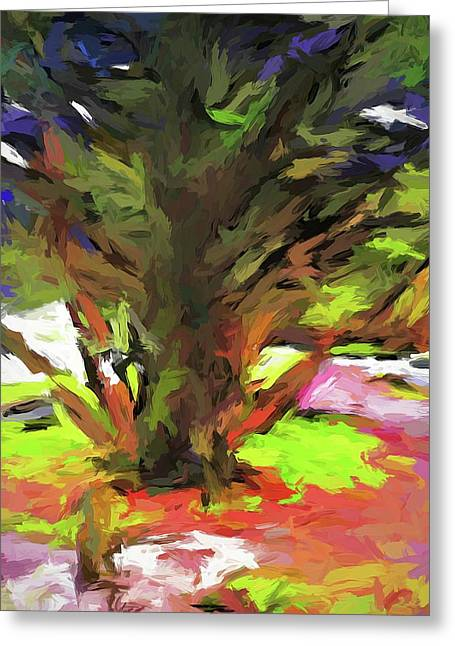 Tree With The Open Arms Greeting Card