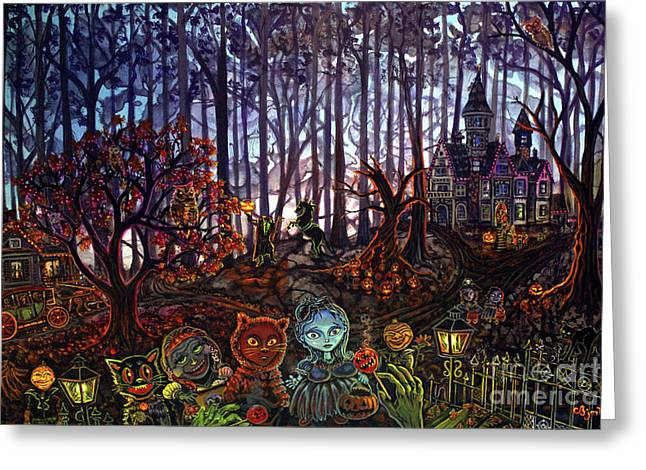 Trick Or Treat Sleepy Hollow Greeting Card