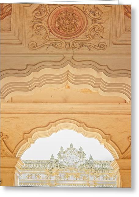 Triple Archways Guatemala Greeting Card