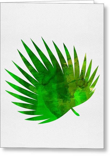 Tropical Chamaerops Greeting Card