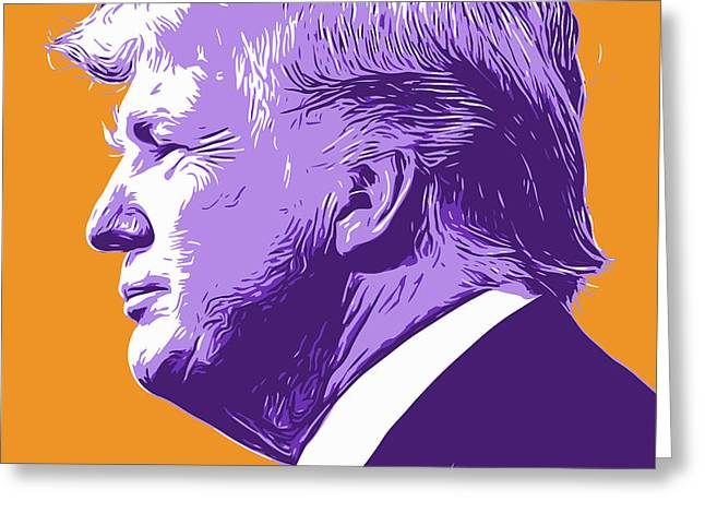 Trump Popart Greeting Card