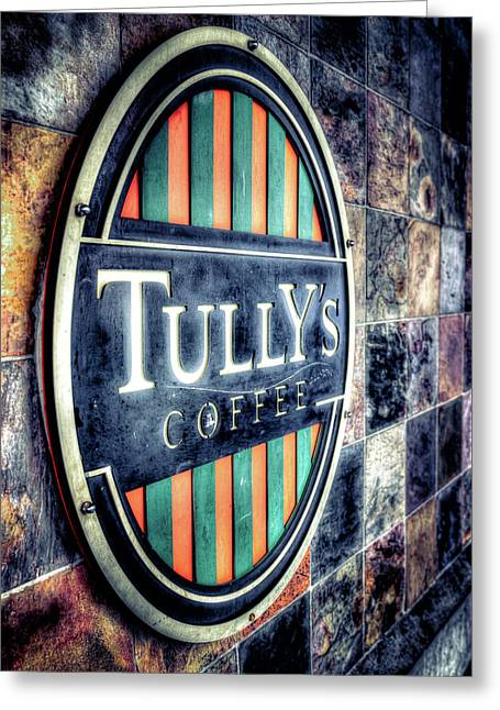 Tullys Coffee Greeting Card
