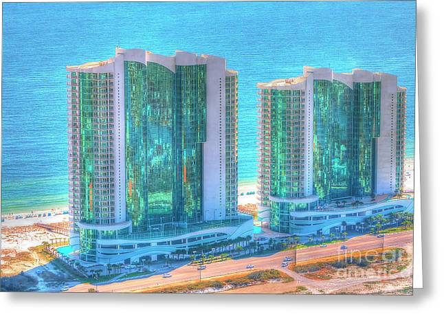 Turquoise Place Greeting Card