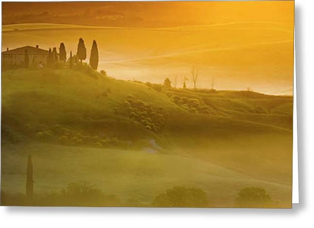 Tuscany In Gold Greeting Card