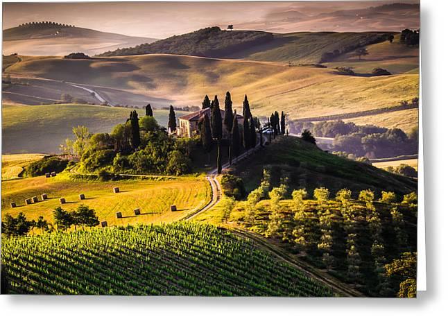 Tuscany, Italy - Landscape Greeting Card