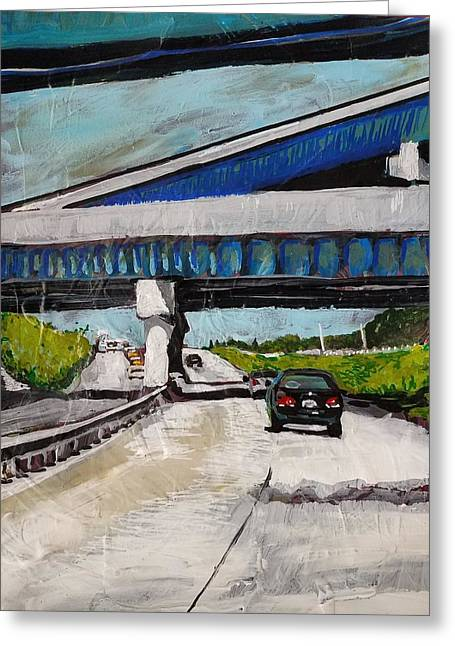 Underpass Z Greeting Card