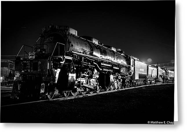 Union Pacific Big Boy Greeting Card
