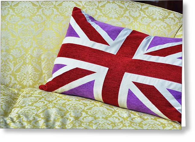 Union Royal Flag Greeting Card by JAMART Photography