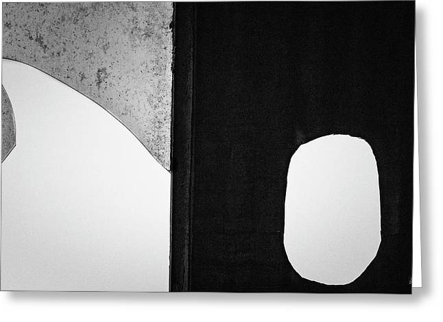 Greeting Card featuring the photograph Untitled Vi 2018 Bw by David Gordon