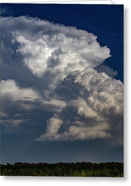 Updrafts And Anvil 008 Greeting Card