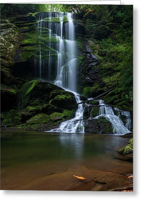 Upper Catawba Falls, North Carolina Greeting Card
