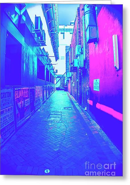Urban Neon Greeting Card