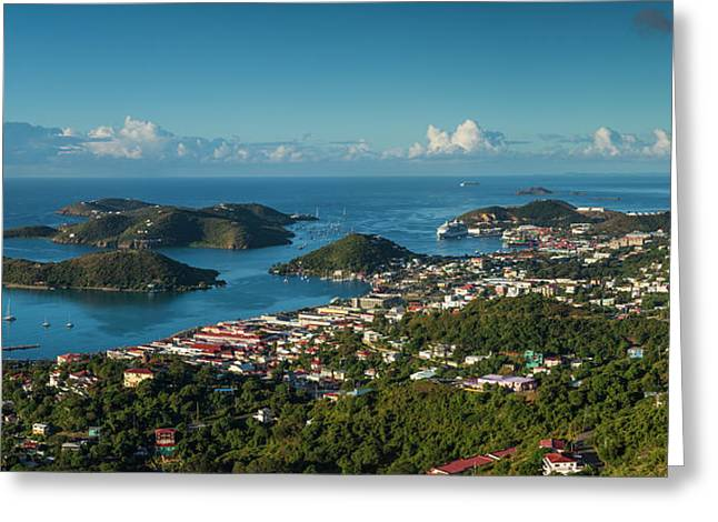 Us Virgin Islands, St Thomas Elevated Greeting Card