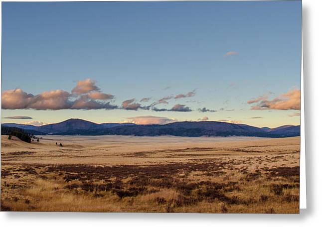 Greeting Card featuring the photograph Valles Caldera National Preserve by Jeff Phillippi
