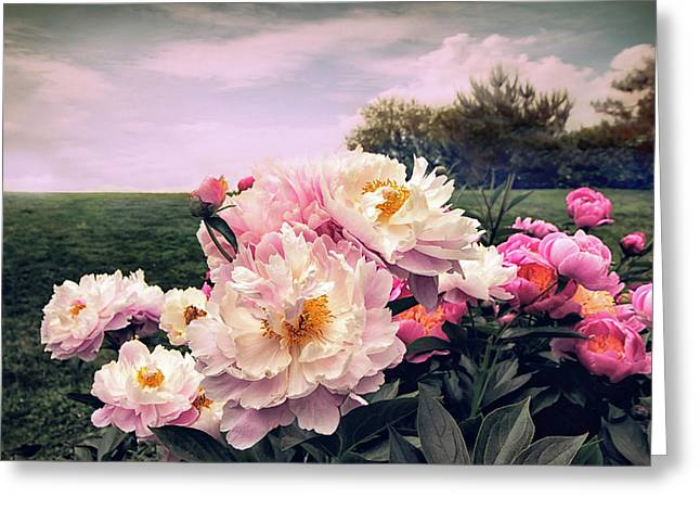Peony Place Greeting Card