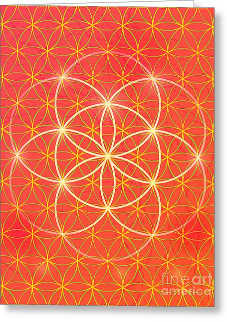Vector Geometric Background Is. Bright Greeting Card