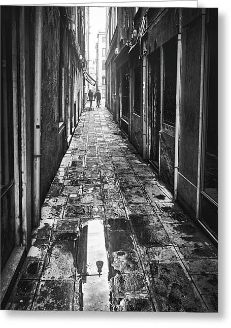 Venetian Alley Greeting Card