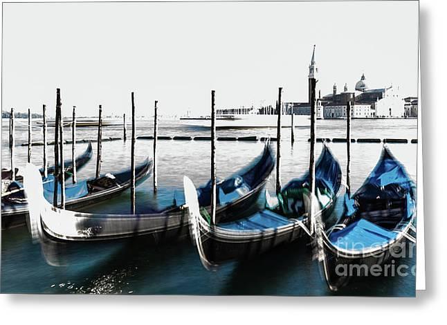 Venezia High-key, Italy Greeting Card
