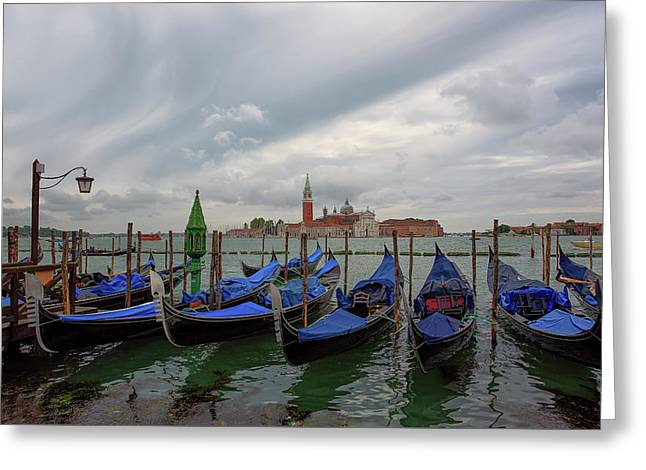Venice Gondola's Grand Canal Greeting Card