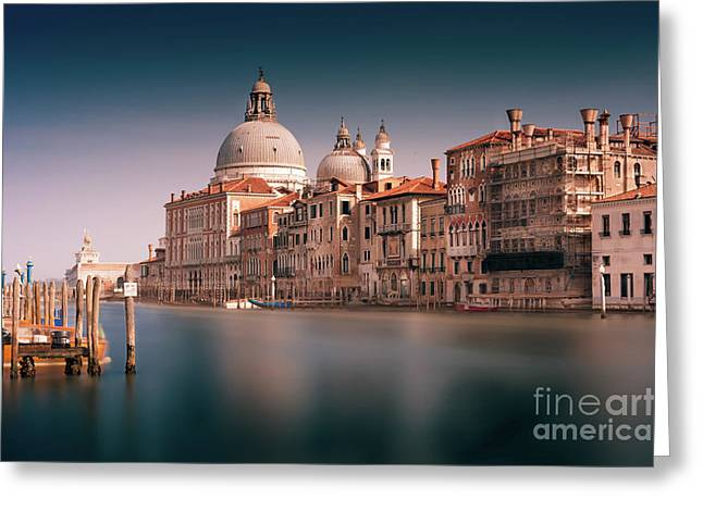 Venice Grand Canal Greeting Card