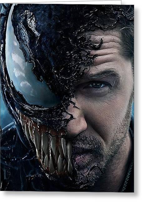Venom Greeting Card