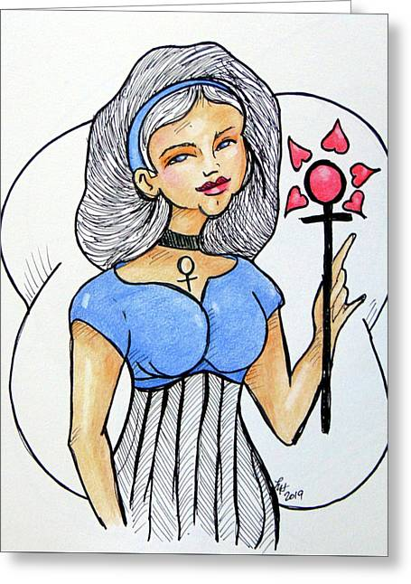 Venus  Greeting Card