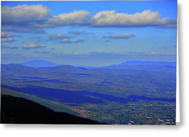 Greeting Card featuring the photograph Vermont From The Summit Of Mount Greylock 3 by Raymond Salani III
