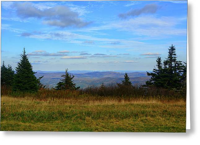 Greeting Card featuring the photograph Vermont From The Summit Of Mount Greylock by Raymond Salani III