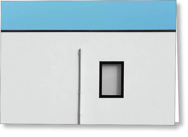 Verona Windows 1 Greeting Card