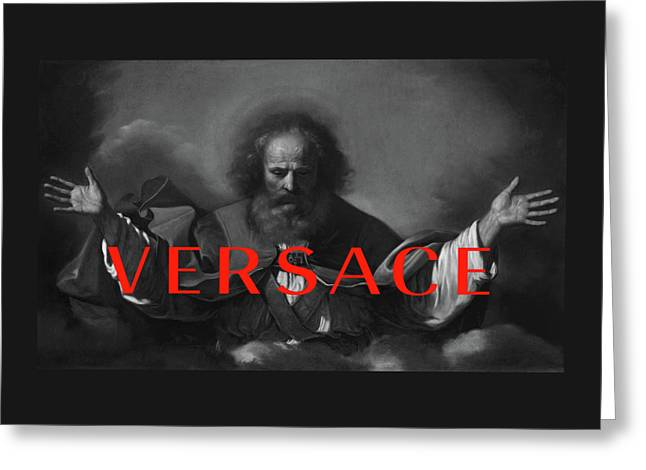 Versace-4 Greeting Card