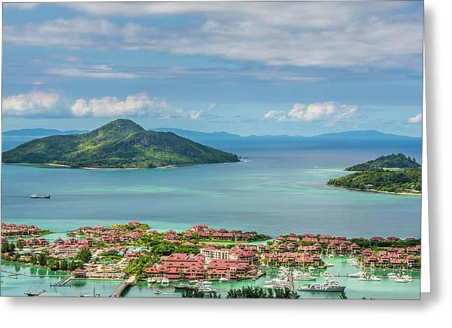 Victoria, Mahe, Republic Of Seychelles Greeting Card