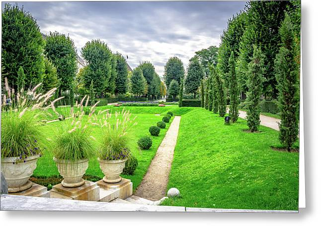 Vienna Garden Greeting Card