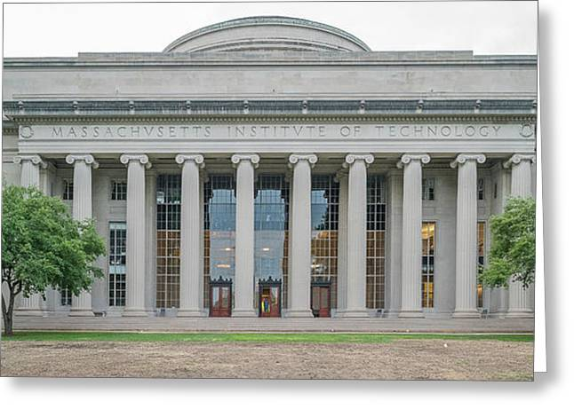 View Of Massachusetts Institute Greeting Card