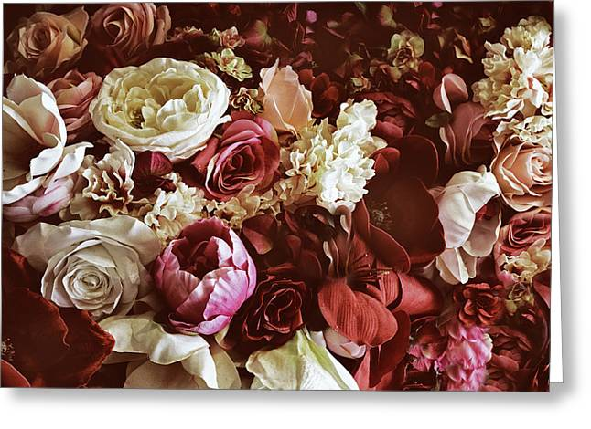 Vintage Rose Collection Greeting Card