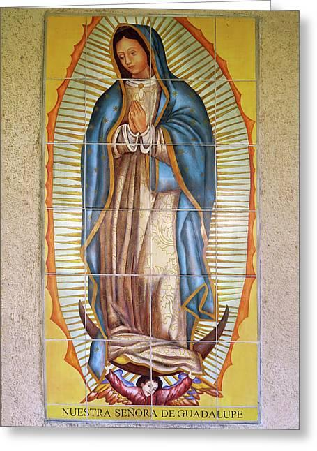 San Gabriel Mission - Nuestra Senora De Guadalupe Greeting Card
