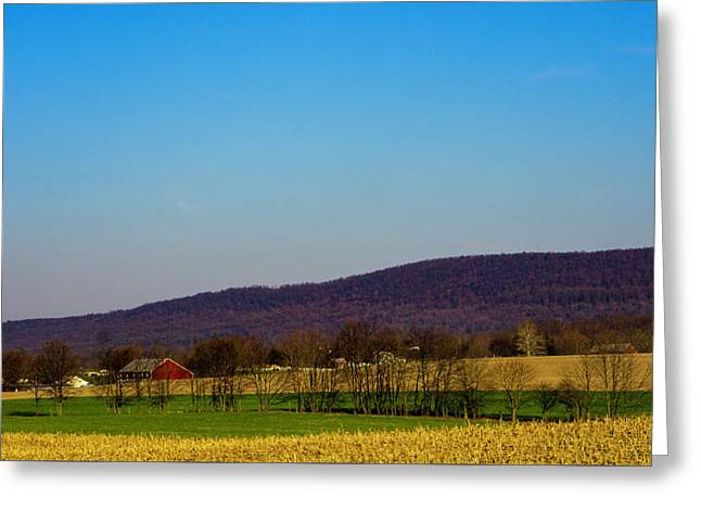 Virginia Mountain Landscape Greeting Card