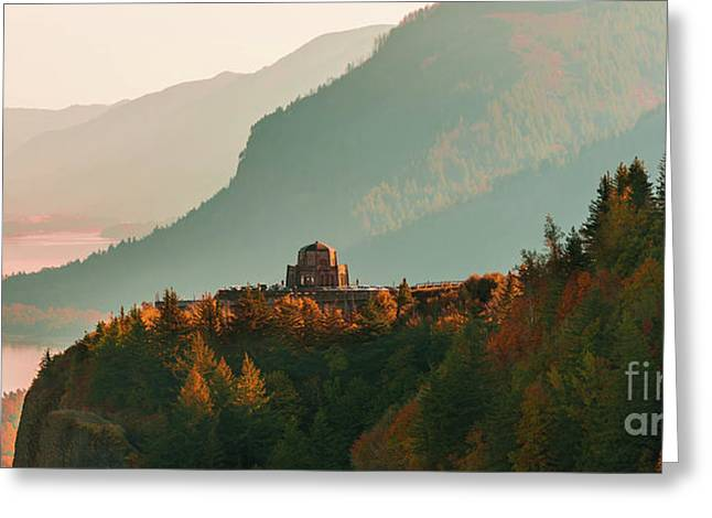 Vista House Greeting Card
