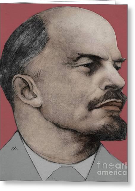 Vladimir Ilich Lenin Greeting Card