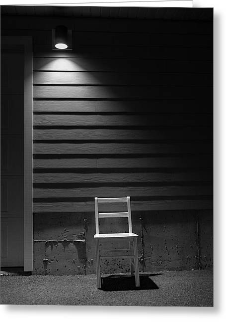 Waiting / The Chair Project Greeting Card